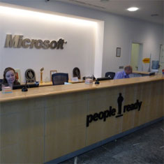 Microsoft Büros in Moskau